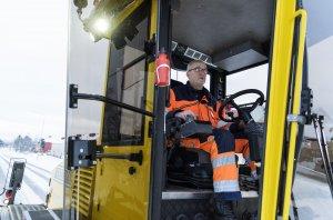 Maskinförare Ulf Aldenlöv tycker att hela hans livsstil har förändrats och han mår mycket bättre på alla sätt sedan satsningen på chaufförer fick honom att tänka mer på hälsa och motion.
